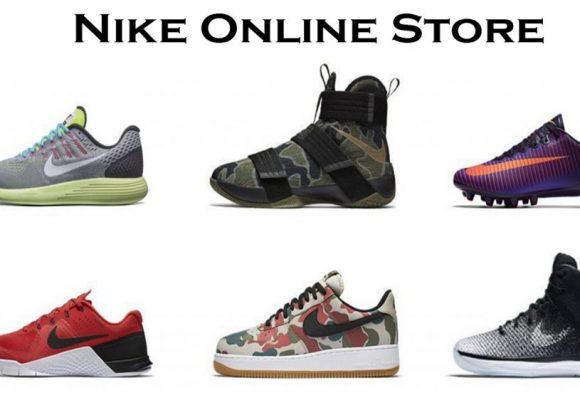 Membeli Sepatu Nike Melalui Internet