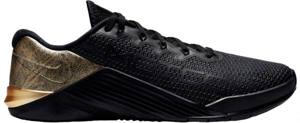 Nike Metcon 5 Black x Gold